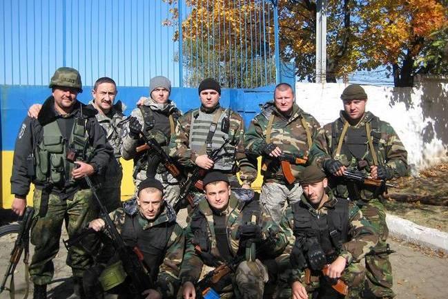 Міліціанти з Чернігова в боях за Дебальцівський плацдарм