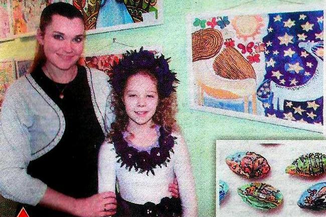 Талановита 11 річна художниця з Ніжина підкорює дорослі конкурси