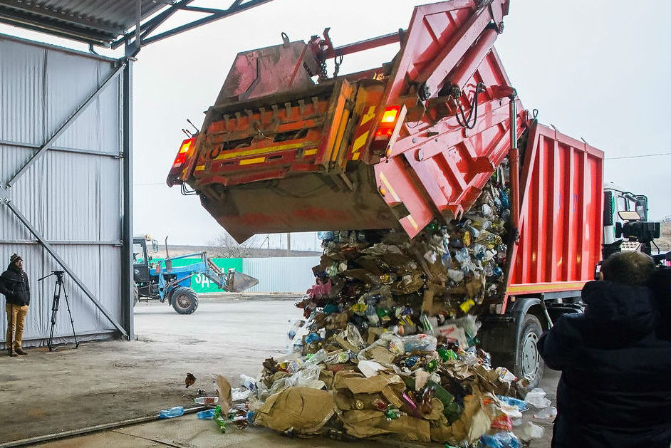 завод з переробки сміття