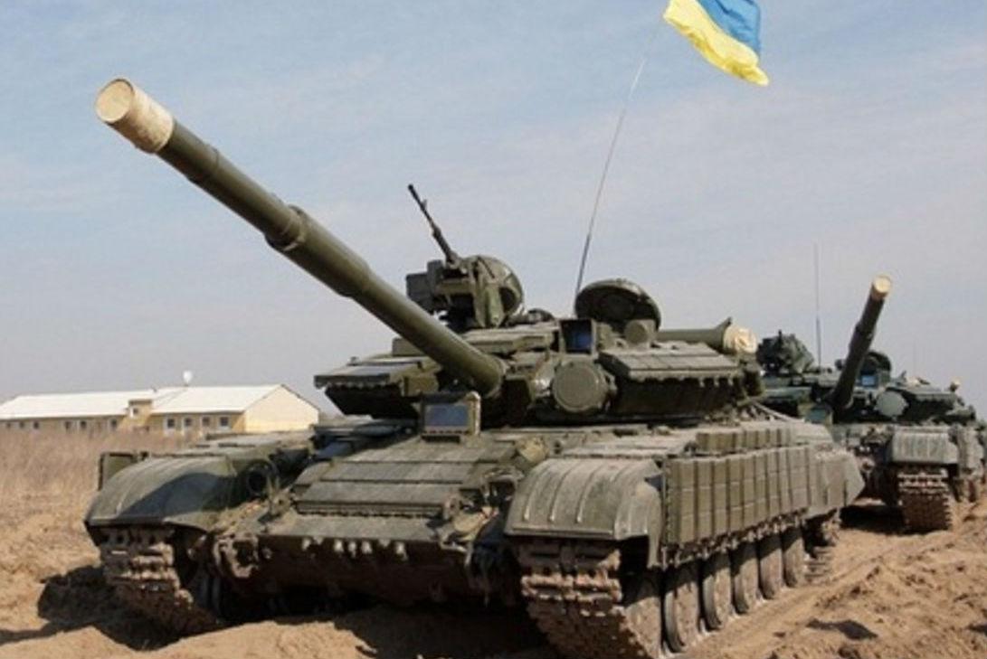 ВСУ стягивают танки к линии соприкосновения