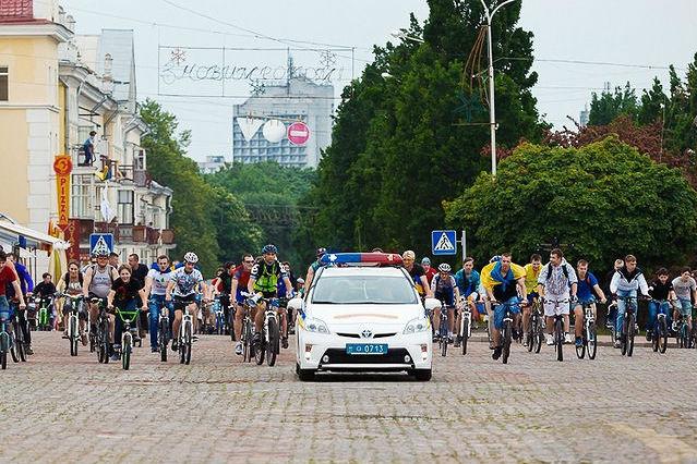Чернігів стане найбезпечнішим містом України для велосипедистів