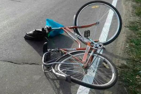 велосипед, яма