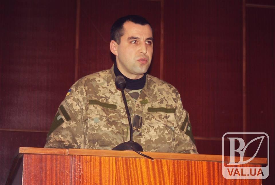Віктор Павлюк очолив Чернігівський  міський об'єднаний військовий комісаріат